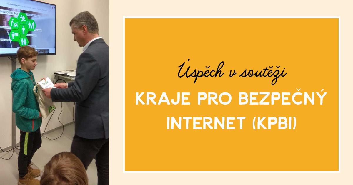 Úspěch v soutěži Kraje pro bezpečný internet